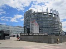 Das Europaparlament in Straßburg